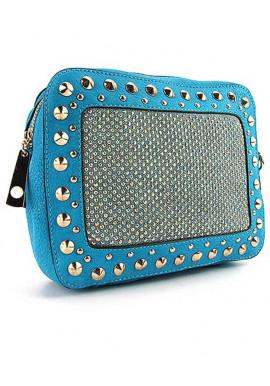 Фото Модный голубой женский клатч Batty 56310