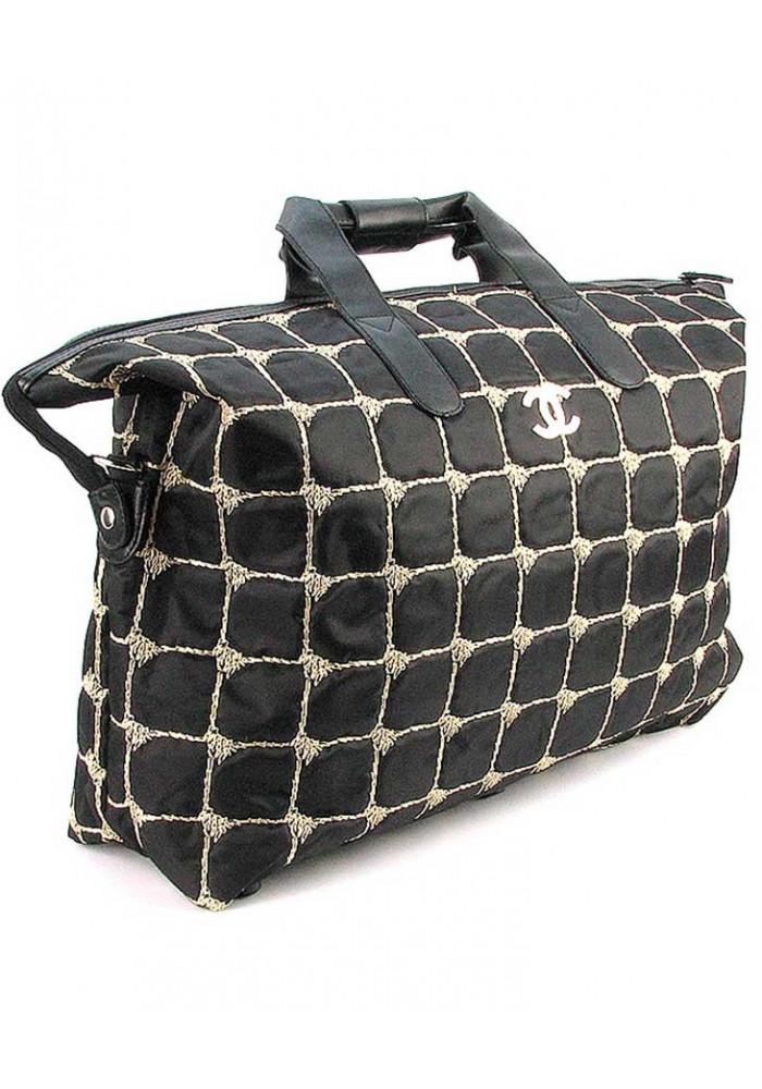 Большая женская сумка из ткани 5338