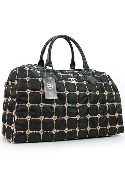 Дорожная женская сумка из ткани 5340