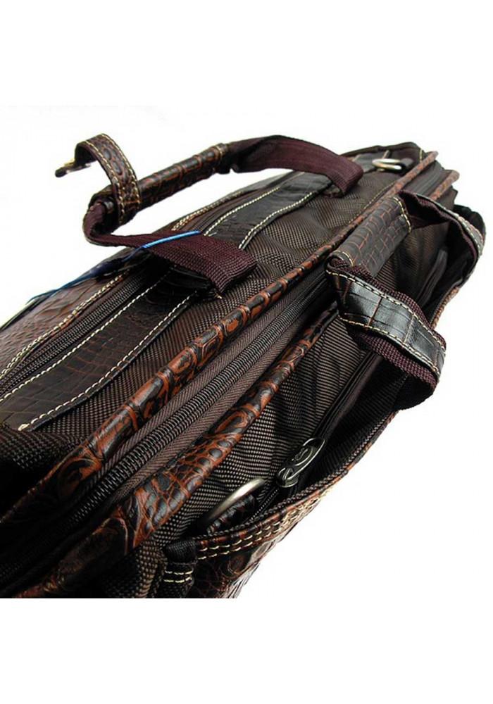 d62e98e376a1 ... Коричневая дорожная сумка саквояж Refiand 88725, фото №3 - интернет  магазин stunner.com ...