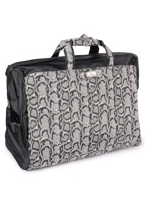 Серая текстильная дорожная сумка Refiand 88725