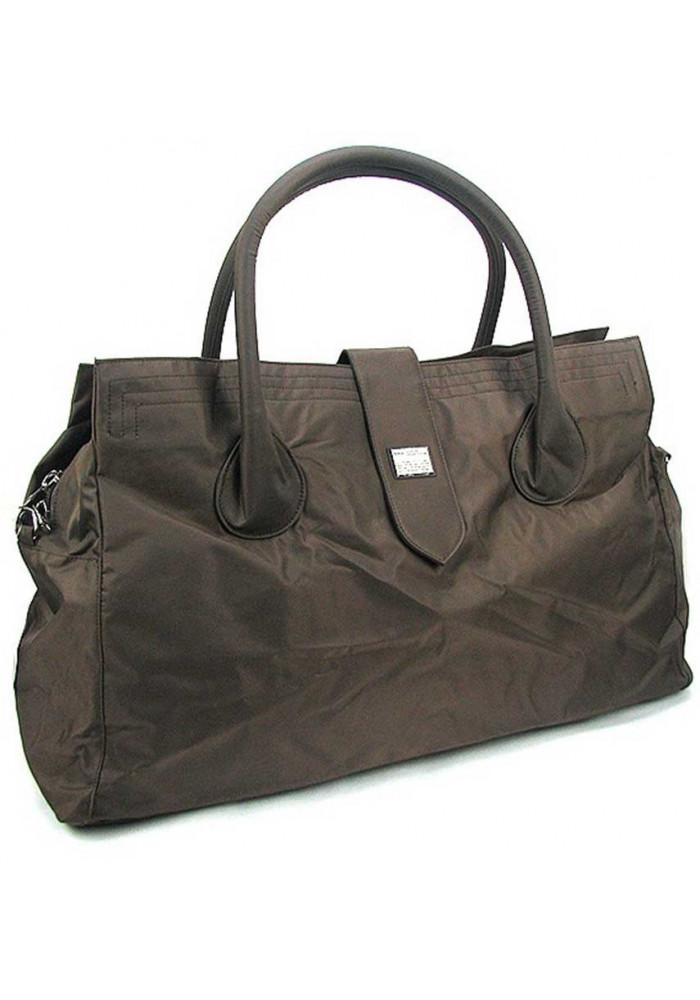 Женская коричневая дорожная сумка Epol 23601