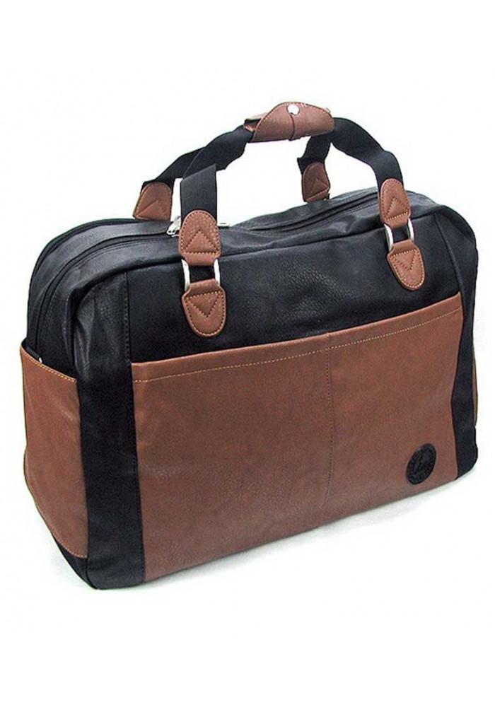 Дорожная сумка из эко-кожи 2416