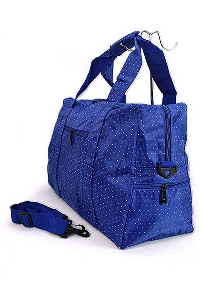 dfce8c50155f ... Синяя дорожная текстильная сумка 262, фото №2 - интернет магазин  stunner.com.