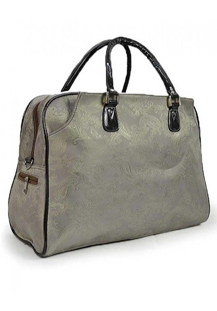 Серая дорожная текстильная сумка 89200