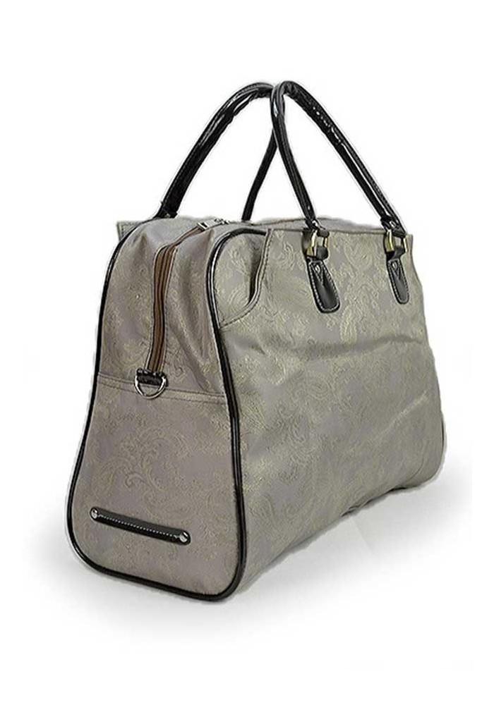 a2e156485673 ... Серая дорожная текстильная сумка 89200, фото №2 - интернет магазин  stunner.com.