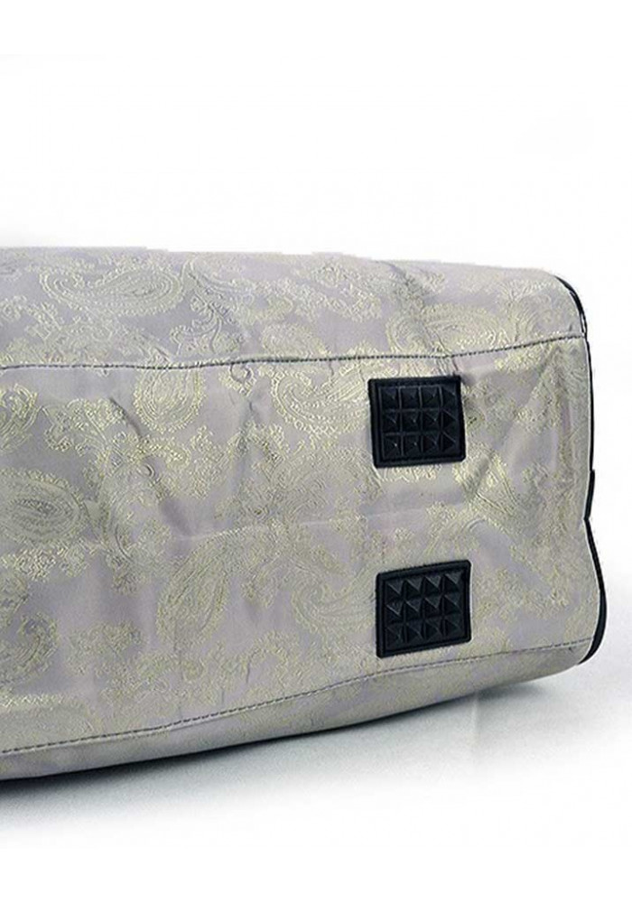 44f5c776d3d1 Серая дорожная текстильная сумка 89200, фото №3 - интернет магазин  stunner.com.