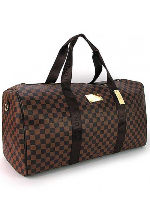 Коричневая дорожная сумка 41412