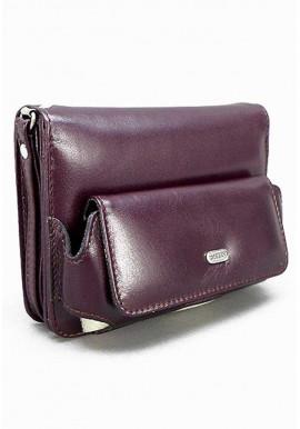 Фото Маленькая бордовая мужская сумка на пояс Desisan 3002