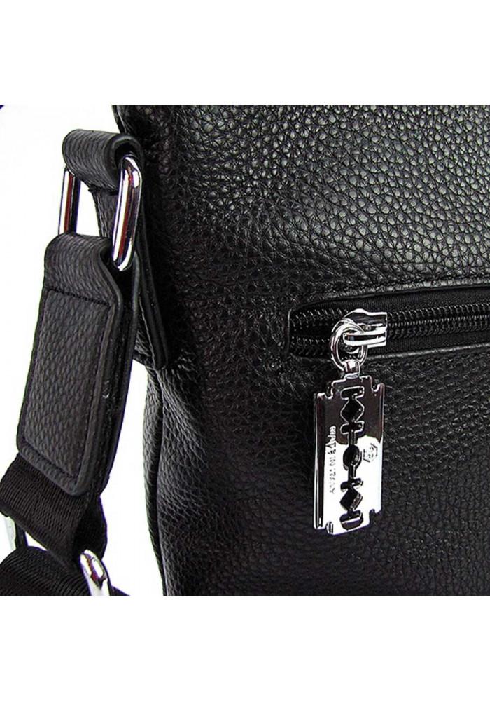 2b35b4082a5f Небольшая мужская кожаная сумка 711, фото №3 - интернет магазин stunner.com.