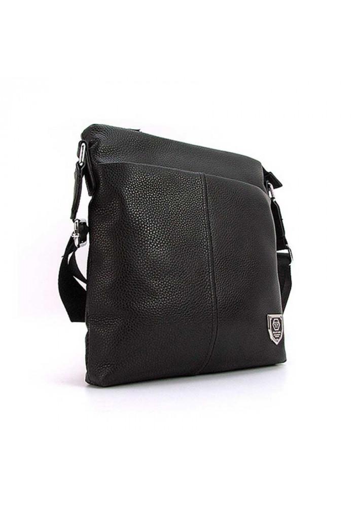 Средняя мужская кожаная сумка 711