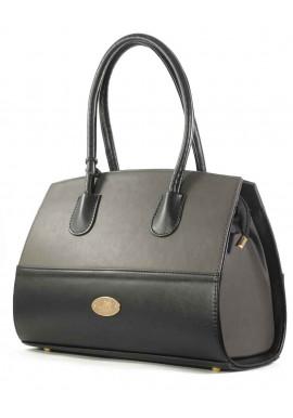 Фото Черно-серая женская сумка Betty Pretty