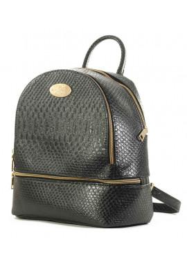 Фото Черный женский рюкзак из эко-кожи Betty Pretty