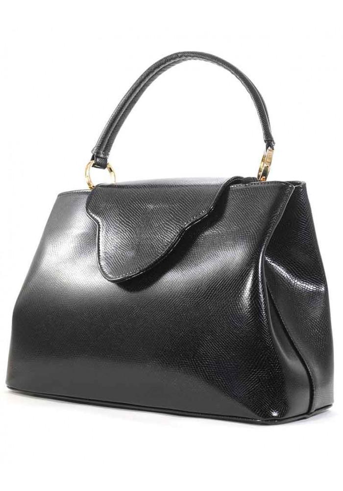 Лаковая женская сумка рептилия Betty Pretty