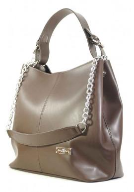 Фото Большая коричневая женская сумка Betty Pretty