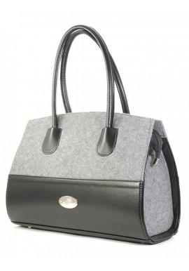 Фото Комбинированная женская сумка Betty Pretty