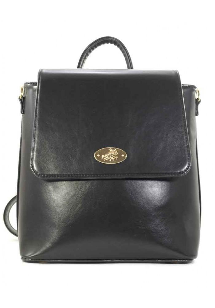a303f769b1ee ... Черная женская сумка-рюкзак Betty Pretty, фото №2 - интернет магазин  stunner.