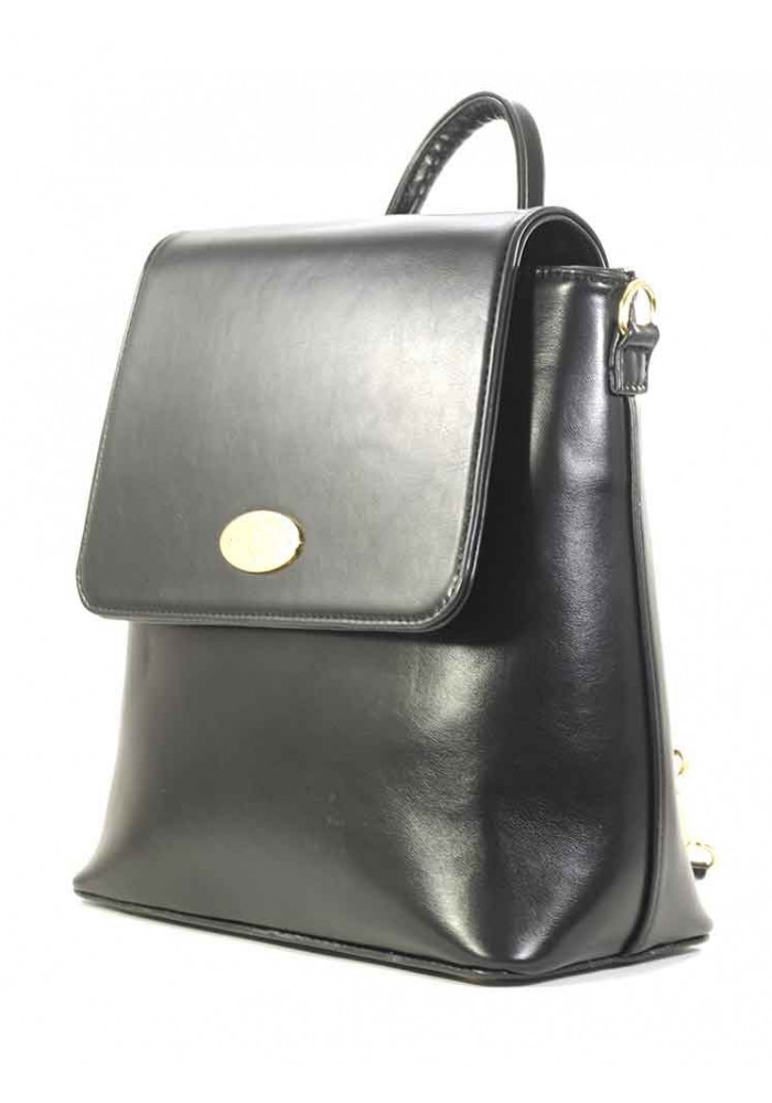 Черная женская сумка-рюкзак Betty Pretty