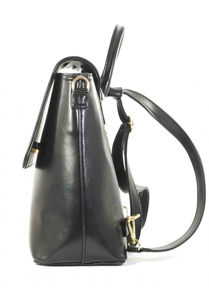 297ef8dc7203 Черная женская сумка-рюкзак Betty Pretty, фото №3 - интернет магазин  stunner.