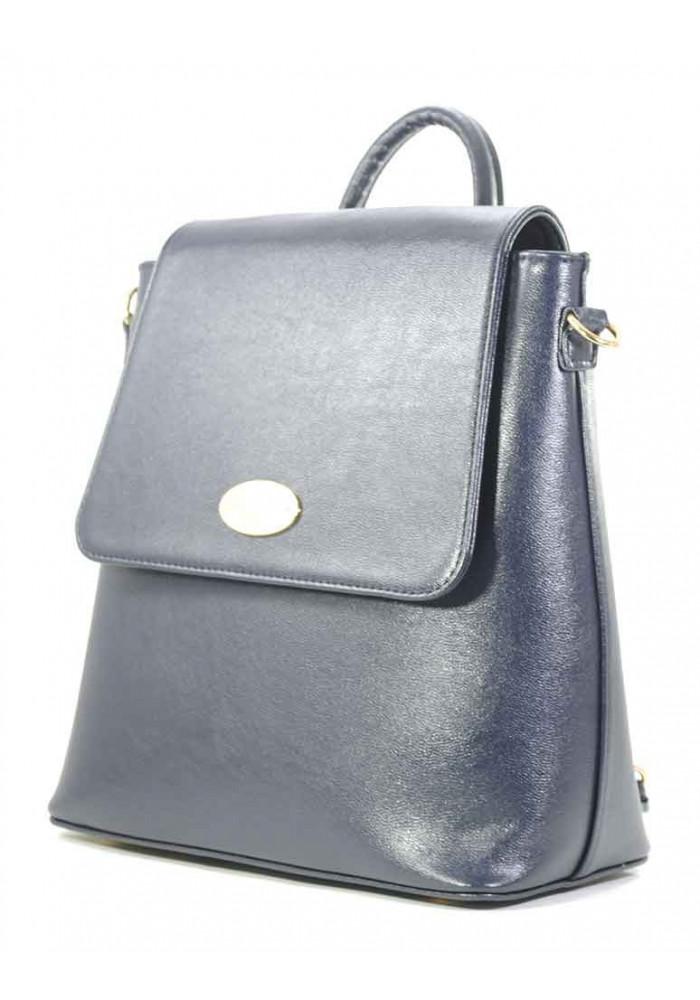 Синяя женская сумка-рюкзак Betty Pretty
