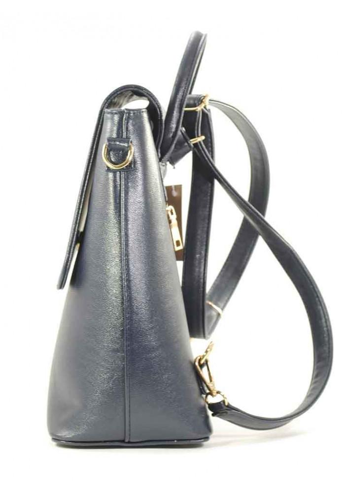 a0db25b3ec7f Синяя женская сумка-рюкзак Betty Pretty, фото №3 - интернет магазин stunner.