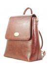 Бордовая женская сумка-рюкзак Betty Pretty