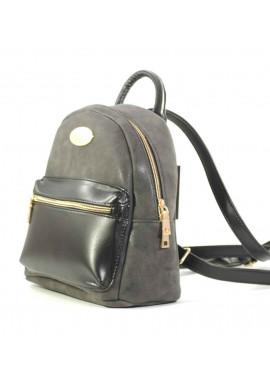 Фото Серый комбинированный женский рюкзак Betty Pretty