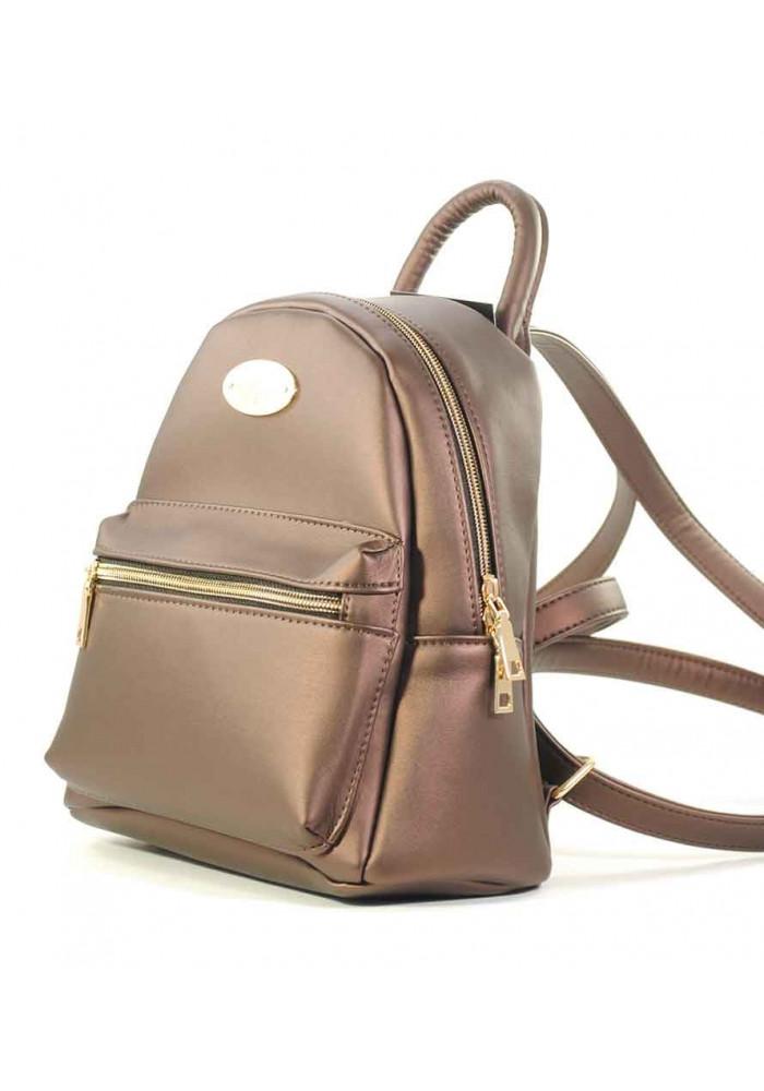 Маленький бронзовый женский рюкзак Betty Pretty