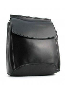 Фото Черный женский рюкзак 10136