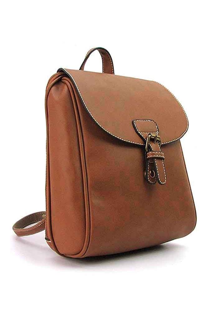 Женский рюкзак 8093 коричневый