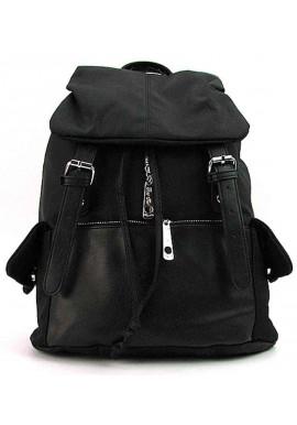 Фото Женский рюкзак текстильный черный RT 32