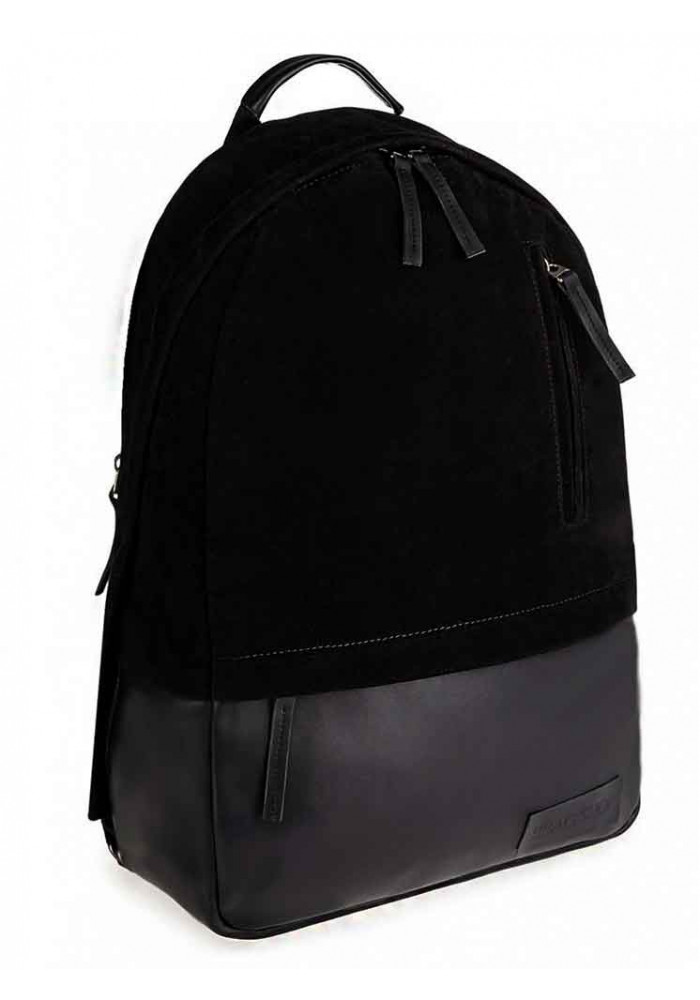 """Черный замшевый рюкзак """"ROPER"""" MAXI BLACK"""