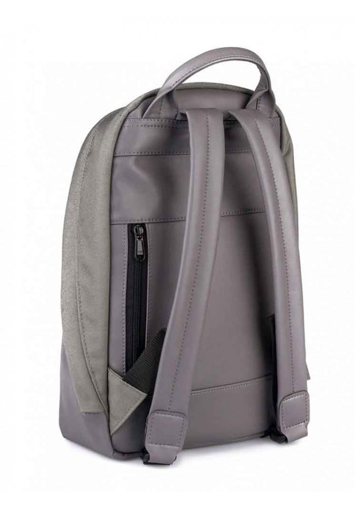 8a8da5602110 Рюкзак серый из кордура и экокожи ROPER BASIC GREY - купить в Киеве ...