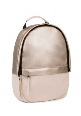 Фото Женский бежевый рюкзак BBAG CAPSULE MINI GOLD POWDER