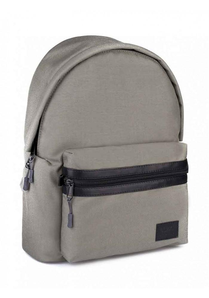 """Серый рюкзак из кордура BBAG """"CRISP"""" BASIC GREY"""