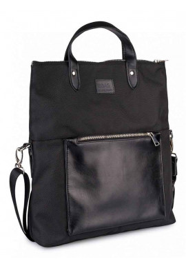 Фото Женская сумка через плечо TWIST BLACK