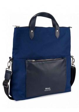 Фото Синяя женская сумка через плечо TWIST NAVY