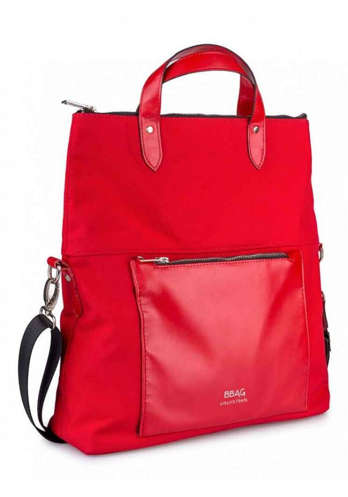 Красная женская сумка через плечо TWIST RED