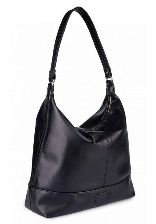 Черная женская сумка CHERRY BLACK
