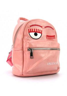 Фото Розовый женский рюкзак из экокожи Valensiy 656
