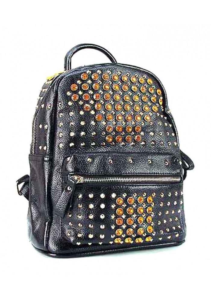 Женский рюкзак со стразами Farfalla Rosso