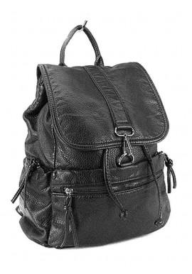 Фото Женский рюкзак черный Farfalla Rosso 6434
