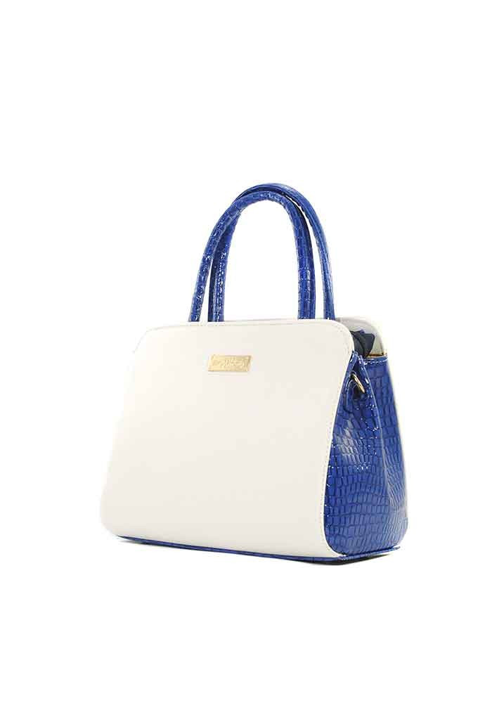 63c7f048f83b ... Маленькая бело-синяя женская сумка Betty Pretty, фото №2 - интернет  магазин stunner ...