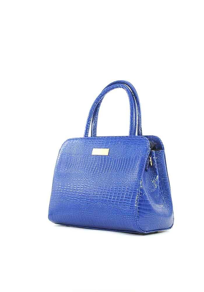3c99ae6af0b5 ... Маленькая синяя лаковая женская сумка Betty Pretty, фото №2 - интернет  магазин stunner.