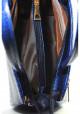 Маленькая синяя лаковая женская сумка Betty Pretty, фото №6 - интернет магазин stunner.com.ua