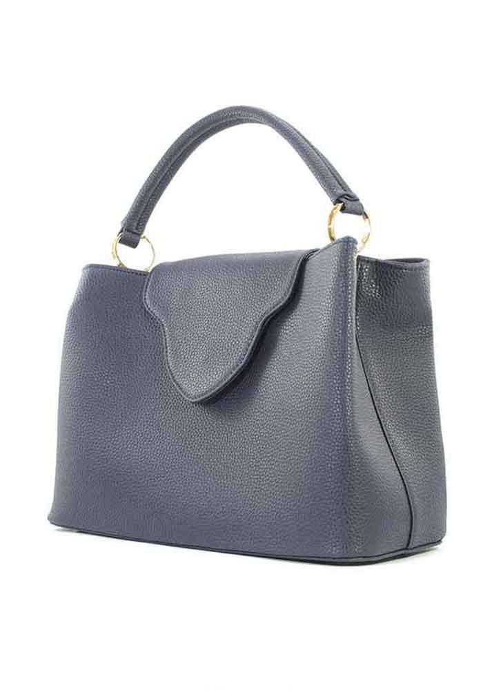 f6c766217659 ... Оригинальная синяя женская сумка мягкой формы, фото №2 - интернет  магазин stunner.com ...