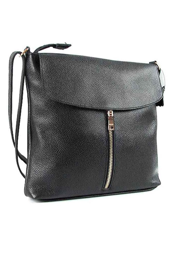Женская кожаная сумка на плечо Viladi 010
