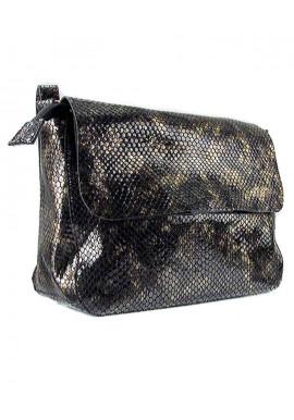 Фото Женская кожаная сумка на плечо хамелеон Viladi 013