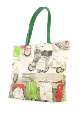 Фото Большая пляжная сумка женская