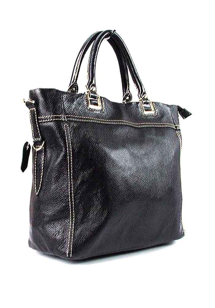 Черная женская замшевая сумка FR